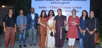 India-China Women Artists Residency in hosted by. The Shanghai Women`s Federation