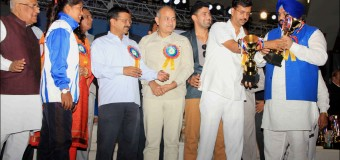 Delhi Olympic Games 2015  Culture Program at Talkatora Indoor Stadium, New Delh