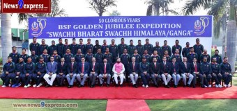 BSF PRESS RELEASE – HON'BLE MINISTER FOR ENVIRONMENT & FOREST SHRI PRAKASH JAVADEKAR GRACED THE OCCASION OF 'SWACHH BHARAT SWACHH HIMALAYA