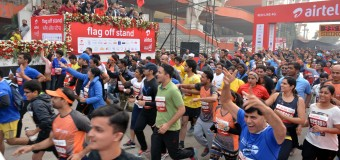 34,000 RUNNERS, THE RUNNING WORLD IN THE 8TH EDITION OF AIRTEL DELHI HALF MARATHON 2015 TODAY