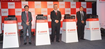 THE LAUNCH OF PIXMA G SERIES PRINTER`S INDIA READY TO WELCOME CANON`S  INK REFILLABLE PRINTER RANGE