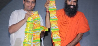 Baba Ramdev Product Launch Aata Noodles Today in New Delhi