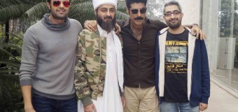 promotion of  their upcoming film'Tere Bin Laden