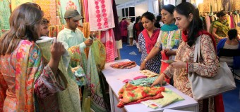 Pakistani famous Designers and Artists Brought their unique Collection to India with Special Emphasis on Exhibition at Constitutional Club of India in New Delhi on Friday