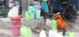 There are 308 districts in 13 states face water scarcity