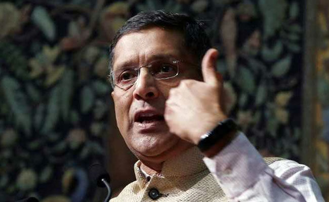 CHIEF ECONOMIC ADVISOR ARVIND SUBRAMANIAN