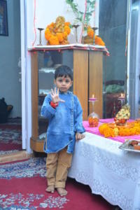 Lakshiv Diwali Celebrate at Home